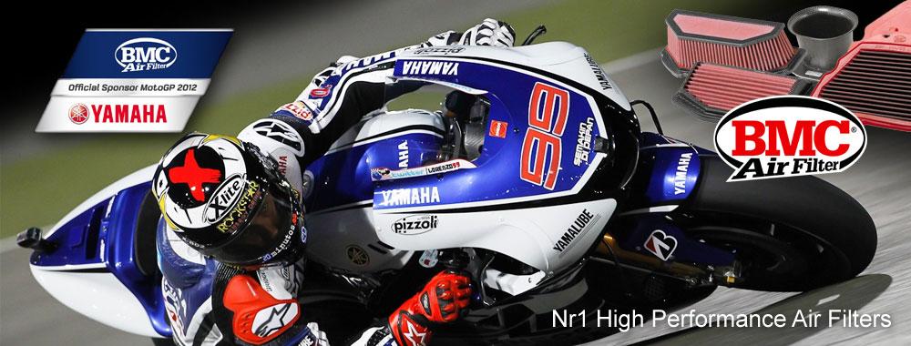 BMC Air Filter - official sponsor MotoGP 2012