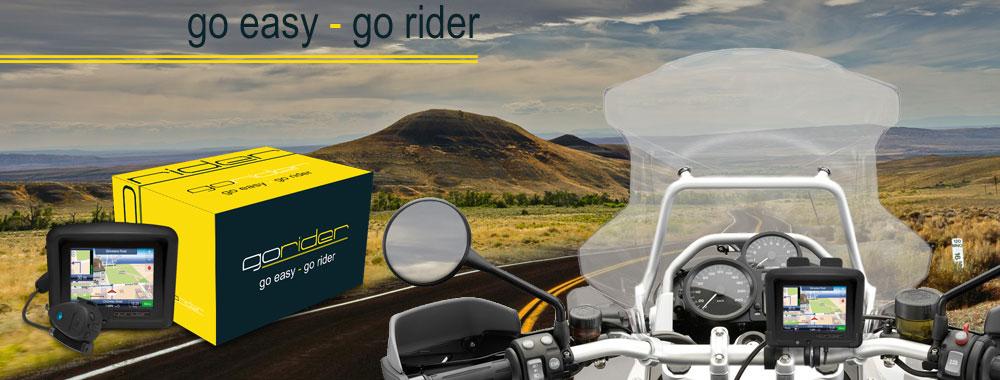 GoRider makes GPS navigation affordable for bikers