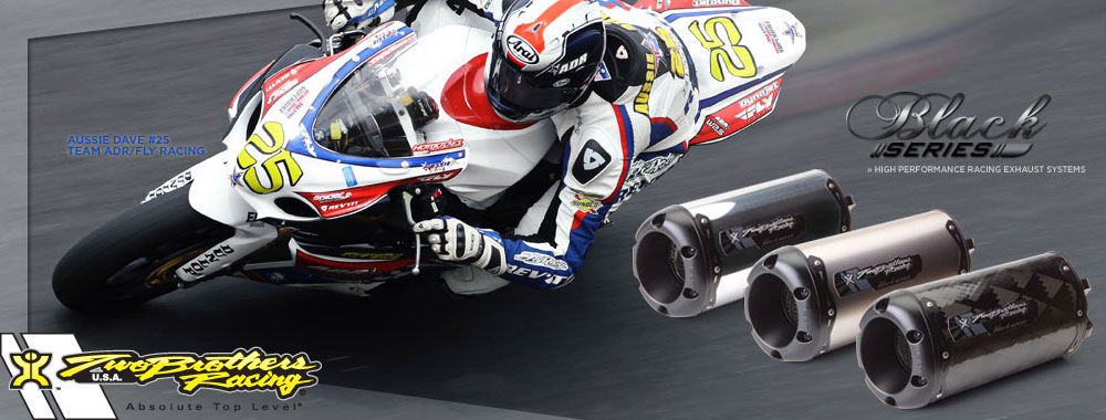 Two Brothers Racing - world's leader in performance motorcycle exhaust systems