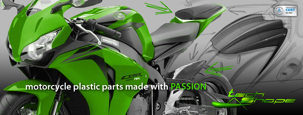 Tech Shape - motorcycle plastic parts made with PASSION