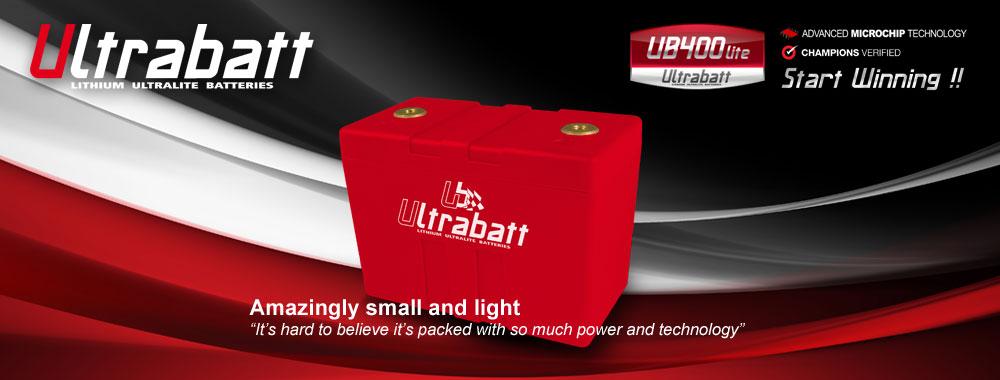 Ultrabatt - the world's lightest and most advanced bike batteries